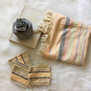 Vintage Southwest Scarf + fabric
